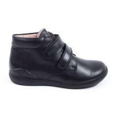 Garvalin Biomecanics Boots garçon à scratchs noir 161103A