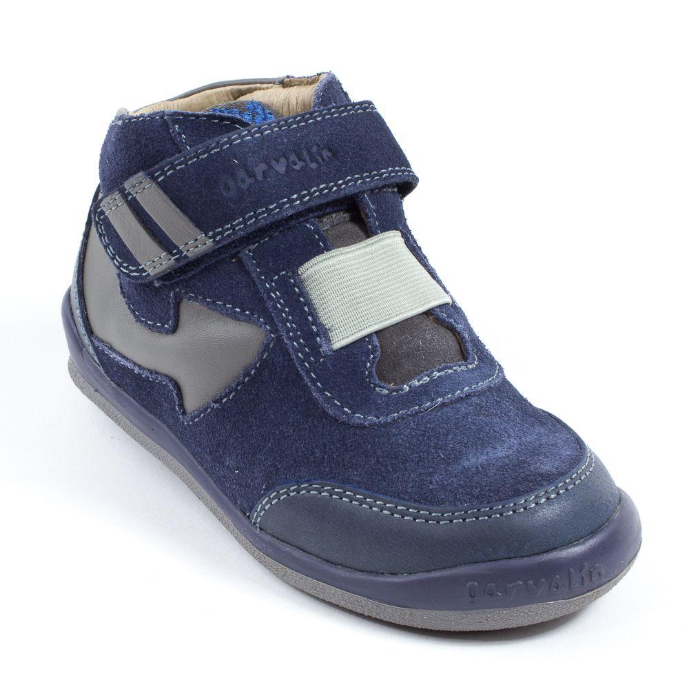 Chaussures Garvalin bleues Casual garçon ekVCN
