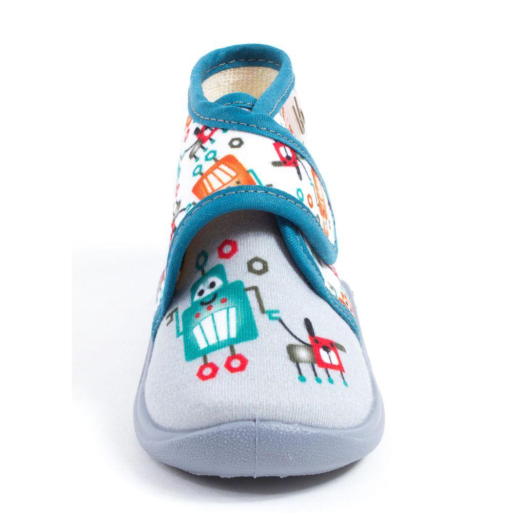 chaussons pas cher pantoufles chaussons gar on du 19 au 30. Black Bedroom Furniture Sets. Home Design Ideas