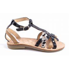 Sandales & Nu-pieds noir pour fille bijou TTY YBRIDE