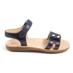 Sandales & Nu-pieds noir plates pour fille YSALYS TTY
