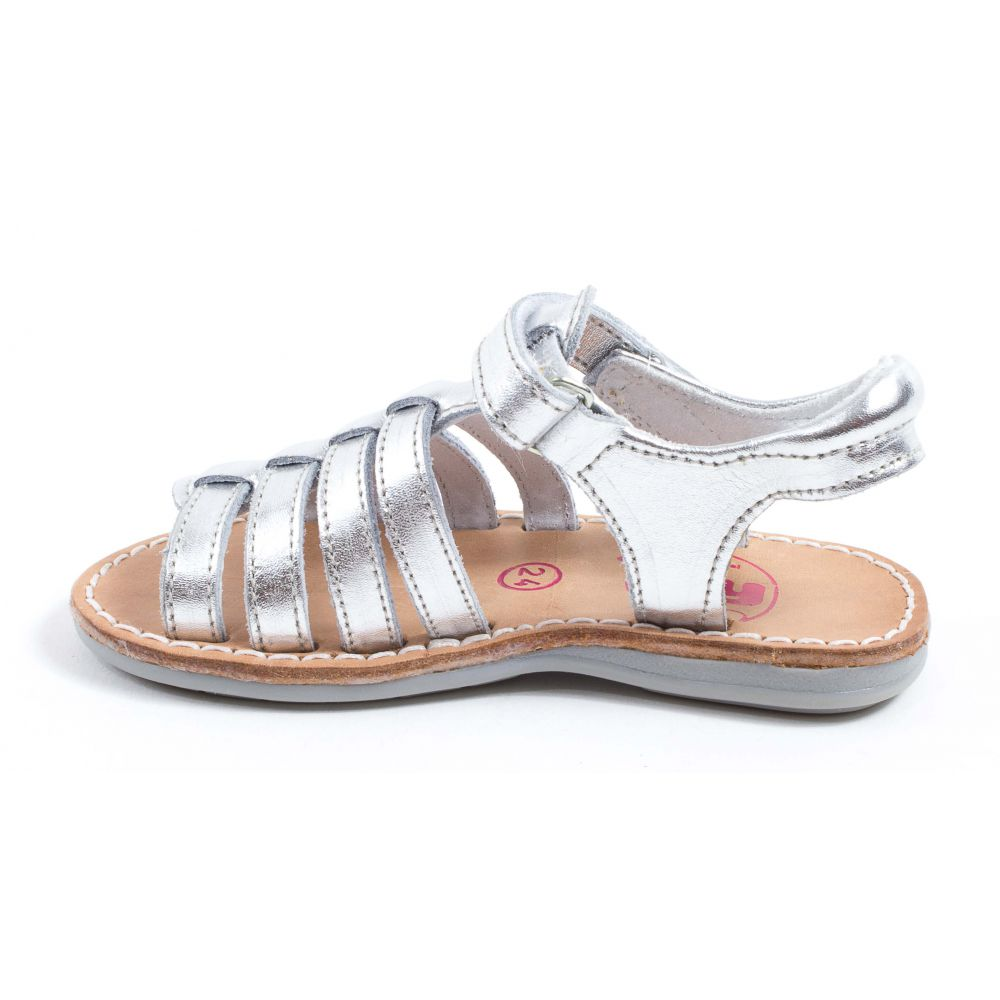 tty Sandales Et Nu-Pieds Fille Blanc YTONGA q3jA46hAGD