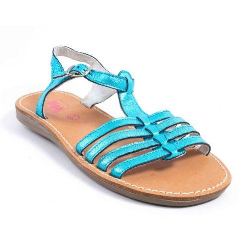 sandales fille bleu turquoise taille 29 tty sandale. Black Bedroom Furniture Sets. Home Design Ideas