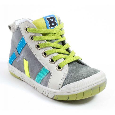 Boots ARTISTREET Babybotte GRIS/ANIS
