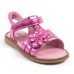 sandales nu pieds rose paillettes babybotte taille 27. Black Bedroom Furniture Sets. Home Design Ideas