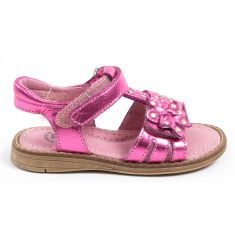 Sandales & Nu-pieds rose paillettes Babybotte KANDJI
