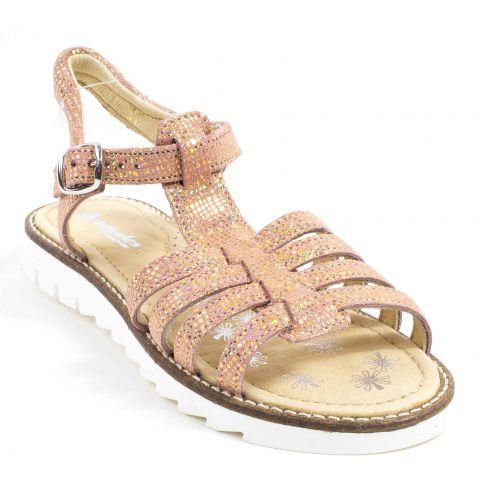 Sandales et nu-pieds Doré en Cuir Babybotte - Soldes sIPJ1NQLS