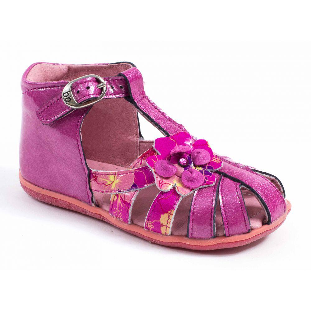 Chaussures enfant Babybotte Sandales rose bébé fille