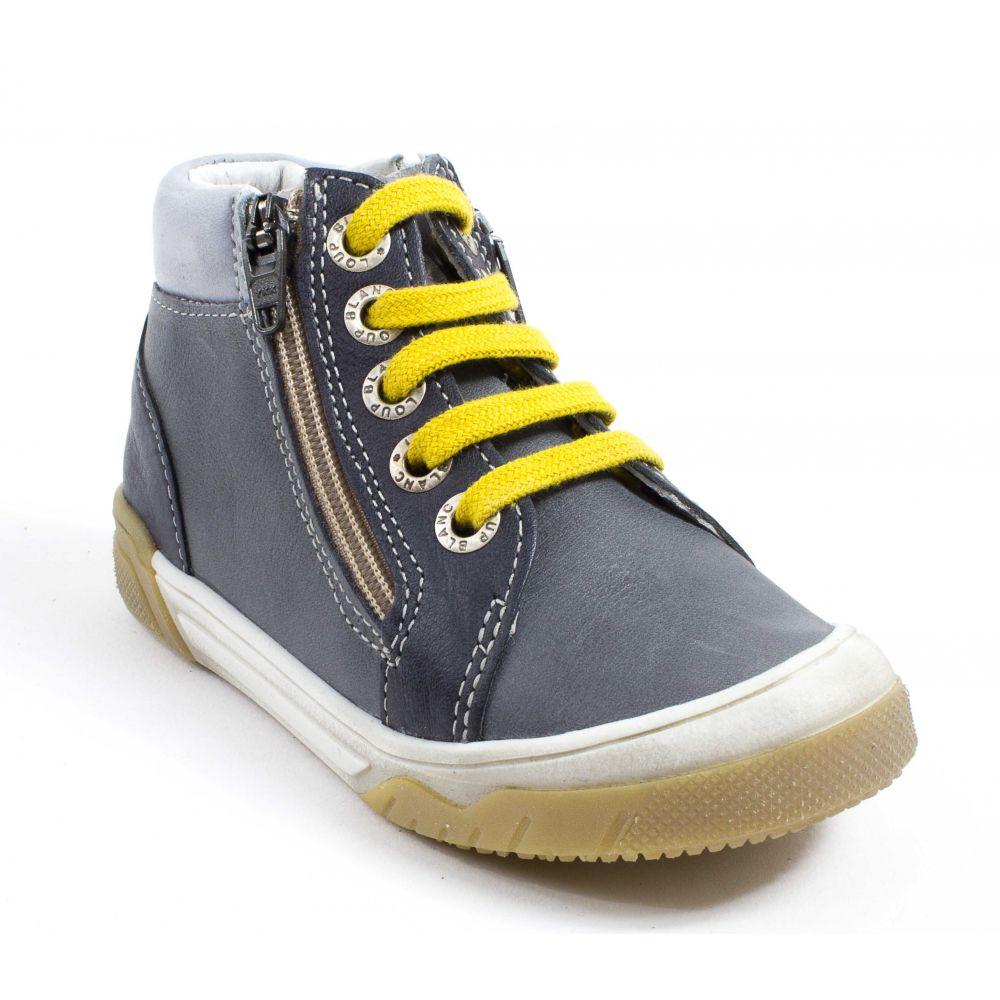 Chaussures à lacets bleu marine Casual garçon zchII6vE4