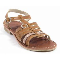 Achile Sandales fille pieds fins BANGKOK marron