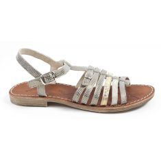 Achile Sandales fille pieds fins BANGKOK or