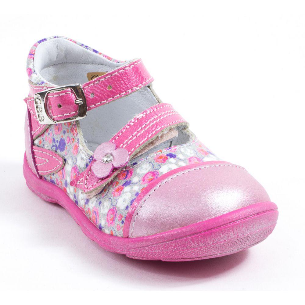 ballerine bebe fille rose fushia liberty Ty0q529o