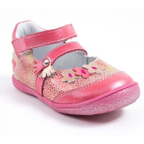 31f0ab7b64a42f Chaussures fille 23 - GBB Babies fille rose cuir pas cher PIA