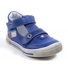 GBB Sandales cuir garçon PEPINO bleu