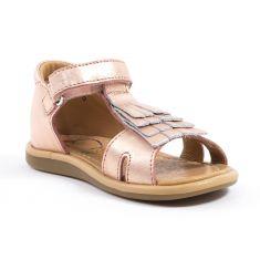 Shoo Pom TITY FRINGE - Sandales et nu-pieds fille- laminato mat
