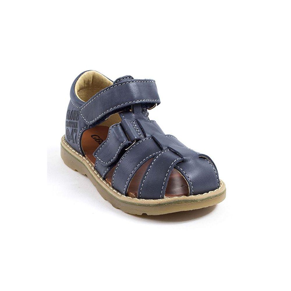 GBB Sandales enfant Sandales et nu-pieds Garçon bleu MANUEL GBB soldes x8mlEuyw