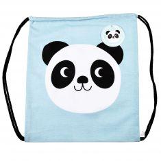 Sac à dos panda cordon coulissant