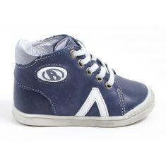 Babybotte sneakers bébé debout B2 bleu marine