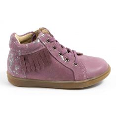Babybotte Bottines rose bébé fille APACHE