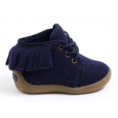 Babybotte chaussons chauds fille à lacets MARIKA