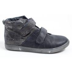 Le Loup Blanc boots fille àscratch spécial maintien HAURORE1 gris