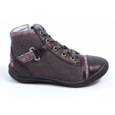 GBB Low boots fille cuir vieux rose  ROMIE