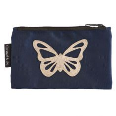 Trousse GM Papillon bleu