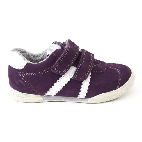 Baskets fille NOEL - Chaussures enfant Noël WENDY purple