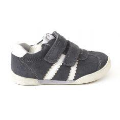 Baskets garçon NOEL - Chaussures enfant gris WENDY