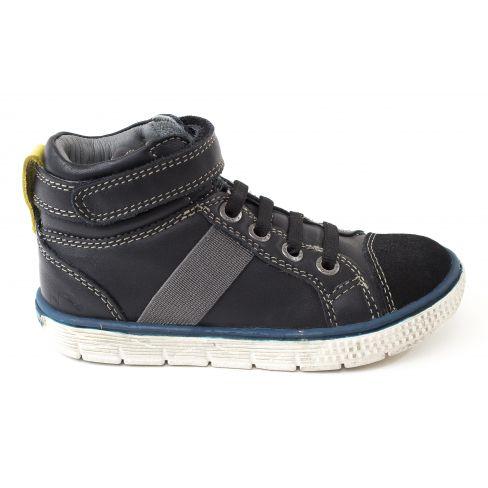 Viken Montantes Garçon Noel Enfant Noir Baskets Cuir Chaussures 0wPOXN8nk