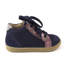 Shoo Pom BOUBA ZIP BOX - Boots fille bleu avec fermeture