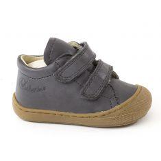 Naturino COCOON Chaussures bébé premiers pas souple garçon en cuir à scratchs