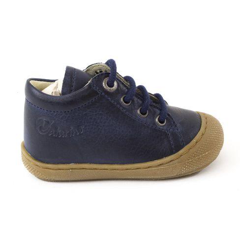 profitez de la livraison gratuite meilleure sélection de grande remise de 2019 Naturino COCOON bleu marine Chaussures bébé premiers pas souple garçon en  cuir