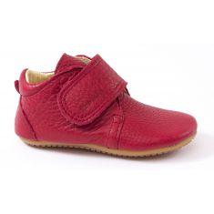 Froddo Chaussures bébé fille pré-marche en cuir rouge