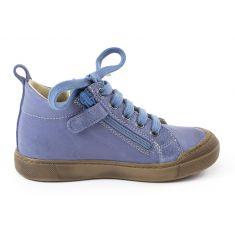 Naturino DELFT Baskets bleues garçon à lacet et fermeture