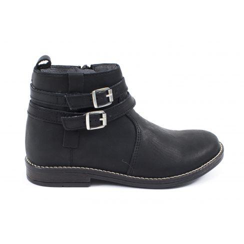 BABYBOTTE - Boots fille ado à fermeture NUIT noir