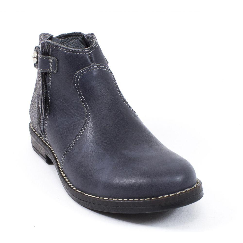 dégagement Pré-commander meilleure sélection de Boots Cuir gris effet glitter style cavalier pour fille ...