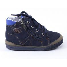 Babybotte Chaussures enfant garçon 1er pas B3 bleu à fermeture