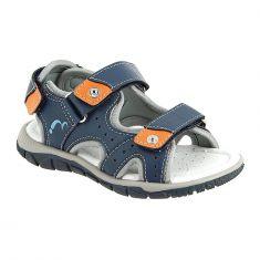 Noel chaussures sandales cuir à scratch garçon IZO jean