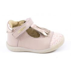 Babies Babybotte SALSA à franges beige rosé