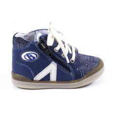 Babybotte Chaussures enfant garçon 1er pas B3 bleu jean à fermeture