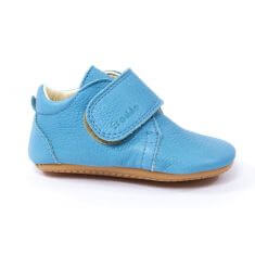 Froddo Chaussures bébé garçon pré-marche en cuir bleu ciel
