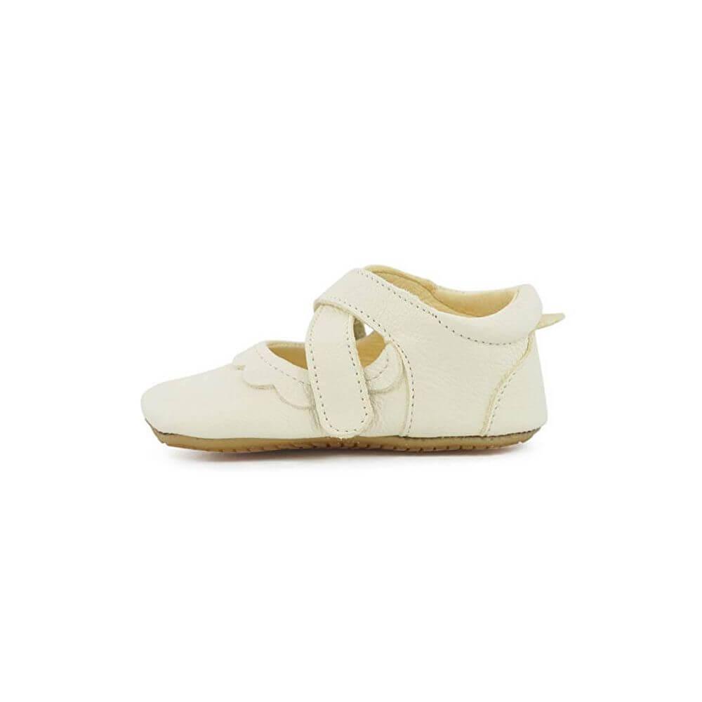 690534b0c5b00 ... Froddo Chaussures babies bébé fille pré-marche en cuir blanc ...