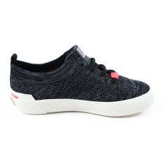 Gioseppo sneakers en tissu maille à lacets gris 47340