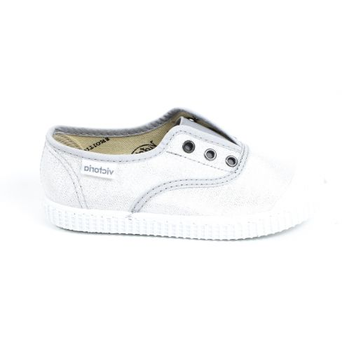 1366118 Lurex Inglesa 1915 Victoria Argent Tissu Sneakers Elastique À Elastico rdBtQsCxho