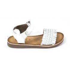 Gioseppo sandales fille à boucle en cuir blanc 48615