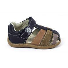 Gioseppo sandales pour bébé garçon ferlées devant à scratch Marine 48140