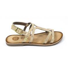 Gioseppo sandales plates pour fille à boucle bronze 47846