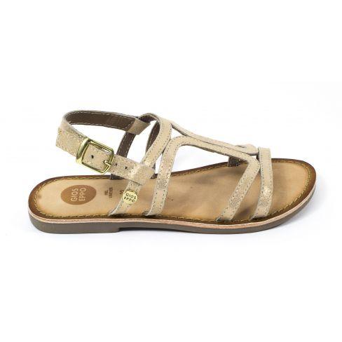 Sandales Fille Pour 47846 Plates Gioseppo Boucle Bronze À R5qAL3j4
