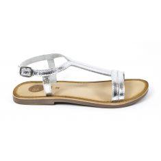 Gioseppo sandales plates pour fille à boucle argent 47838